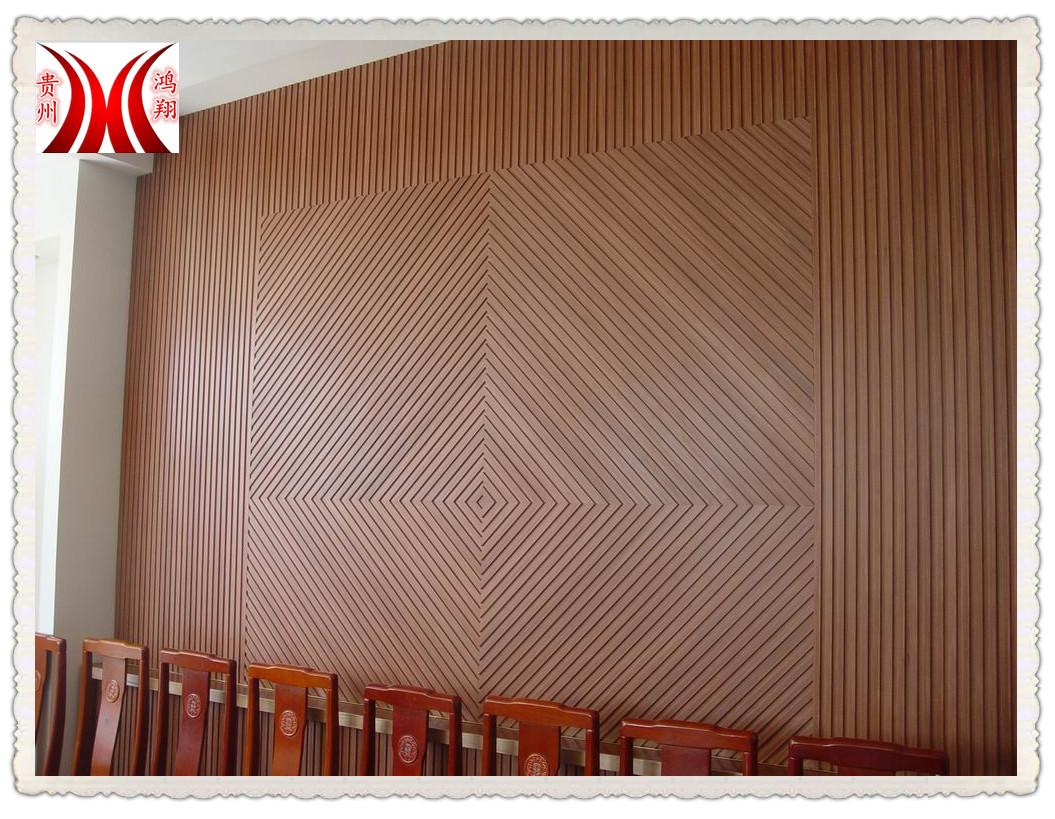 貴州貴陽生態木裝修墻板1