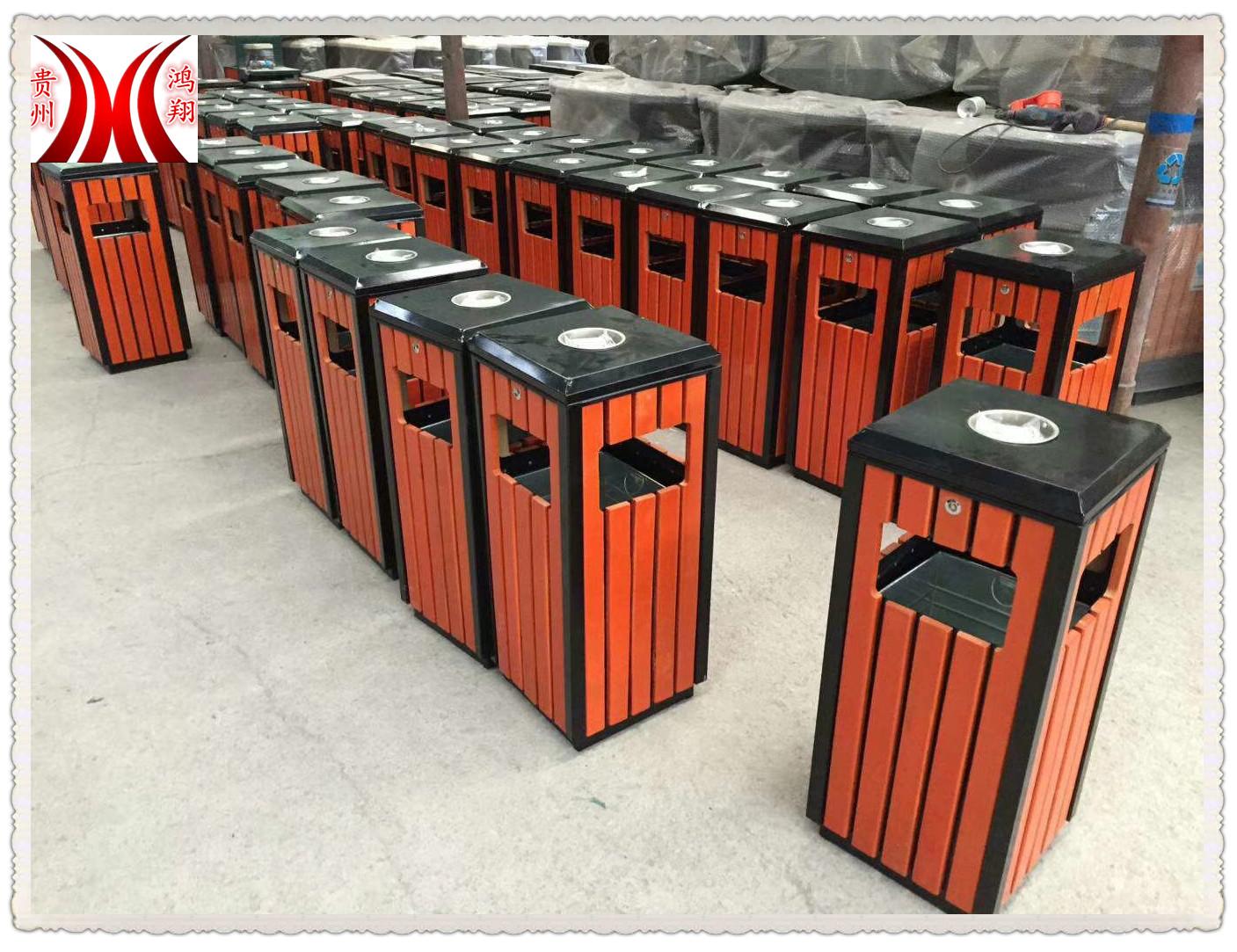 貴州貴陽防水、防腐單桶垃圾箱